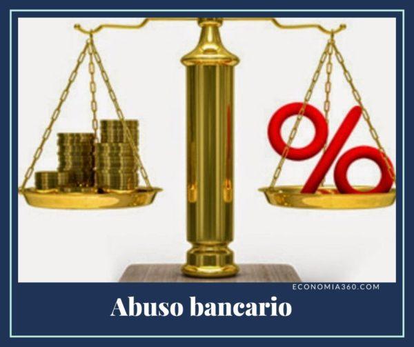 Qué es el Abuso bancario
