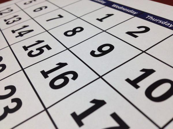 Dias del calendario