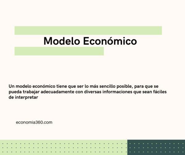 Qué es el Modelo Económico