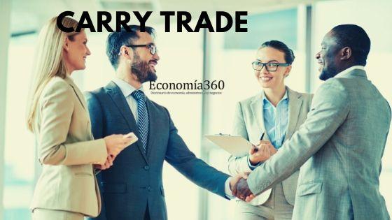 qué significa Carry trade