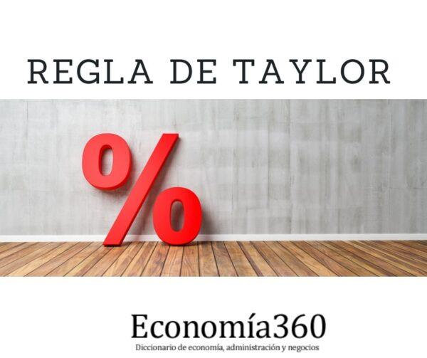 Qué es Regla de Taylor