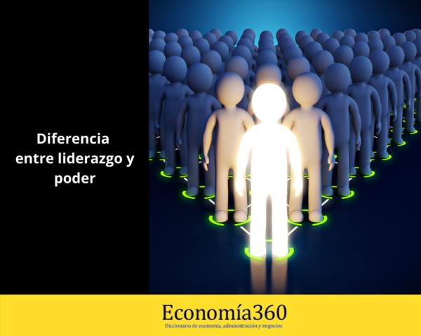 Diferencia entre liderazgo y poder