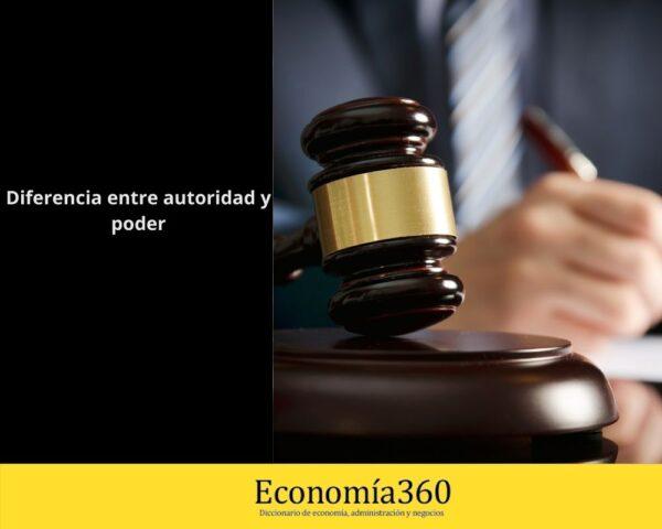 Cuál es la diferencia entre poder y autoridad